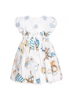 Платье Monnalisa Bebe Donald Duck
